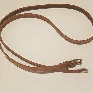 Gap Skinny Leather Belt